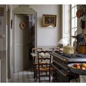 Affordable English Country Kitchen Decor Ideas 38