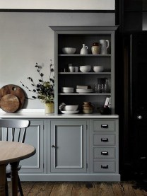 Affordable English Country Kitchen Decor Ideas 40