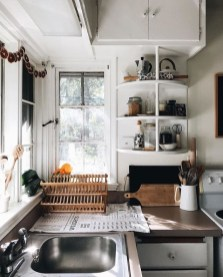 Beautiful Dish Rack Ideas For Your Small Kitchen 25