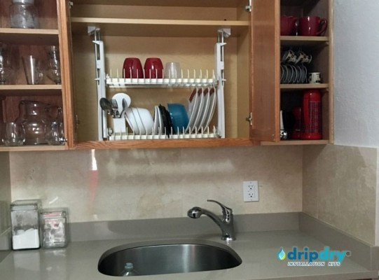 Beautiful Dish Rack Ideas For Your Small Kitchen 49