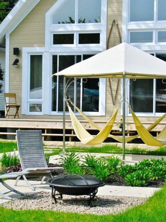 Brilliant Hammock Ideas For Backyard 15