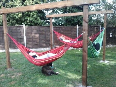 Brilliant Hammock Ideas For Backyard 17
