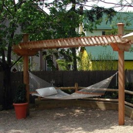 Brilliant Hammock Ideas For Backyard 22