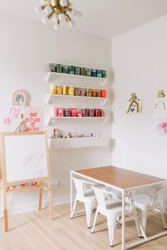 Popular Tiny Playroom Decoration Ideas You Can Select This 23