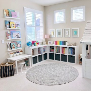 Popular Tiny Playroom Decoration Ideas You Can Select This 33