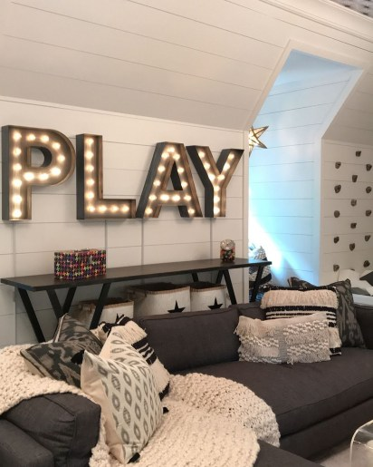 Popular Tiny Playroom Decoration Ideas You Can Select This 35