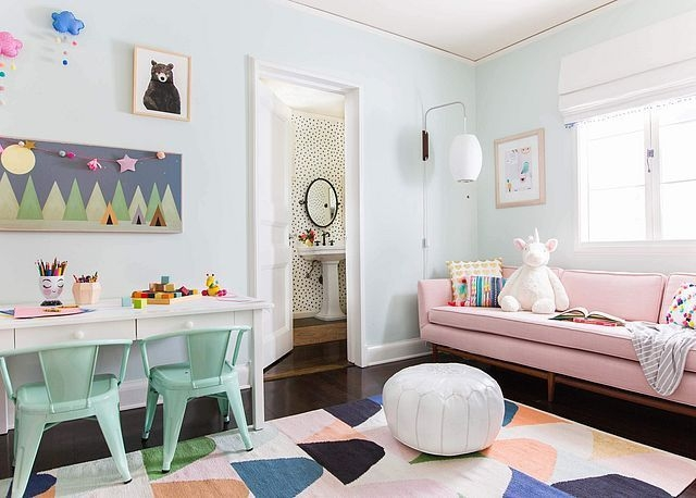 Popular Tiny Playroom Decoration Ideas You Can Select This 36
