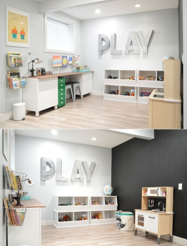 Popular Tiny Playroom Decoration Ideas You Can Select This 37