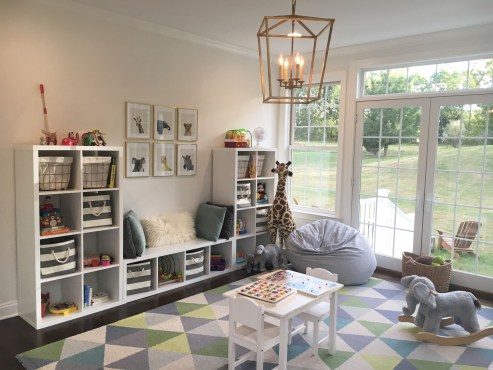 Popular Tiny Playroom Decoration Ideas You Can Select This 45