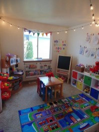 Popular Tiny Playroom Decoration Ideas You Can Select This 49
