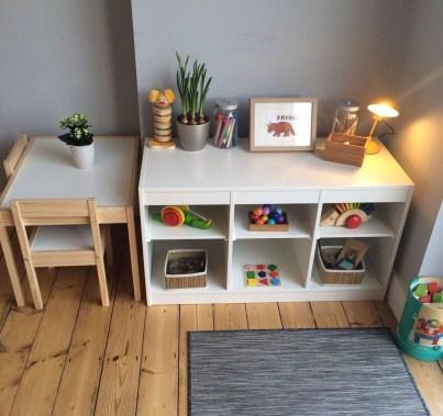 Smart Montessori Ideas For Baby Bedroom 03