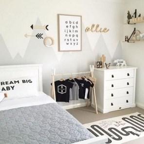 Smart Montessori Ideas For Baby Bedroom 27
