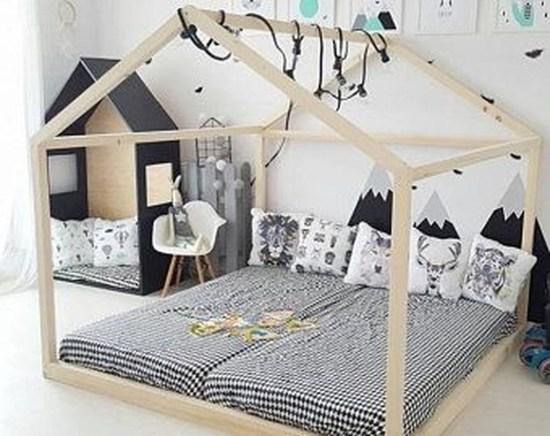 Smart Montessori Ideas For Baby Bedroom 41