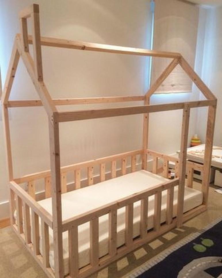Smart Montessori Ideas For Baby Bedroom 42