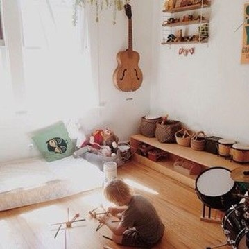 Smart Montessori Ideas For Baby Bedroom 43