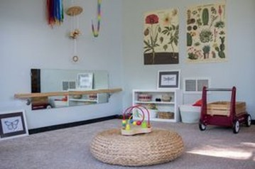 Smart Montessori Ideas For Baby Bedroom 45