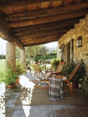 Wonderful Outdoor Dining Room Ideas With Rural Style 10