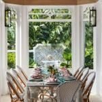 Wonderful Outdoor Dining Room Ideas With Rural Style 44