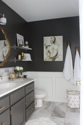 Brilliant Art Ideas For Bathroom To Try 34
