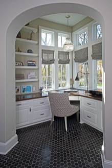 Charming Home Office Cabinet Design Ideas For Easy Storage 07