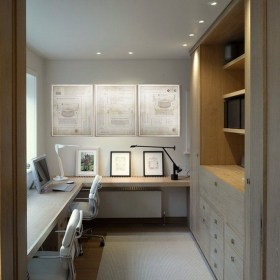 Charming Home Office Cabinet Design Ideas For Easy Storage 27