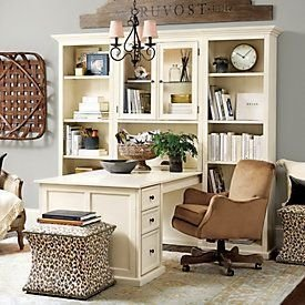 Charming Home Office Cabinet Design Ideas For Easy Storage 41
