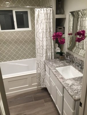 Classy Bathroom Design Ideas With Little Space 43