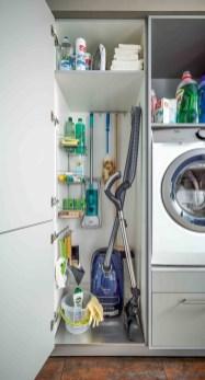 Cozy Laundry Room Storage Design Ideas 30