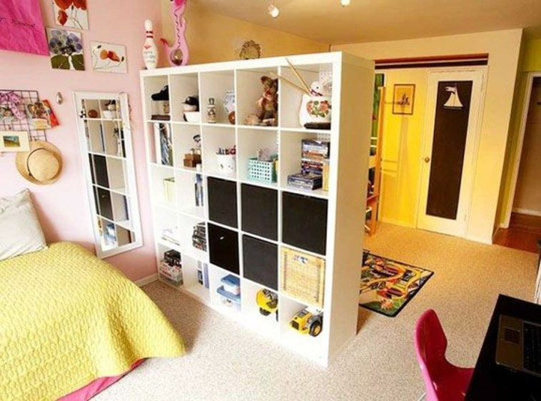 Cute Divide Room Decoration Ideas That Look Great 43