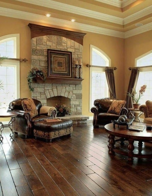 Extraordinary Living Room Design Ideas With Floor Granite 04