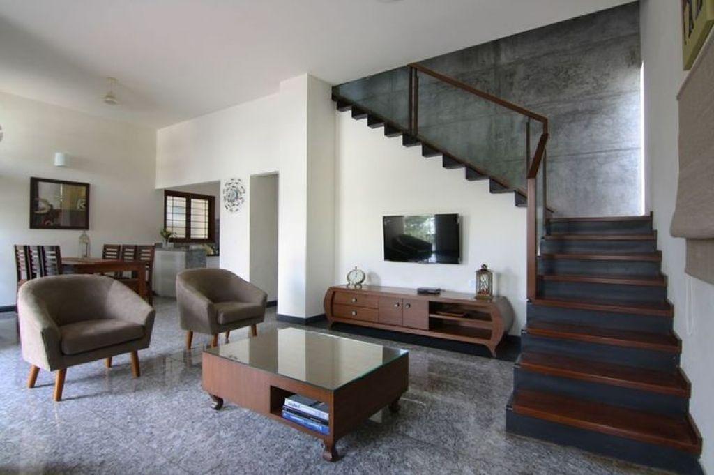Extraordinary Living Room Design Ideas With Floor Granite 08