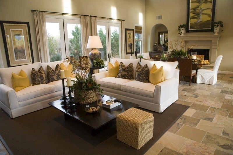 Extraordinary Living Room Design Ideas With Floor Granite 09