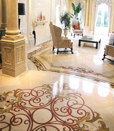Extraordinary Living Room Design Ideas With Floor Granite 25