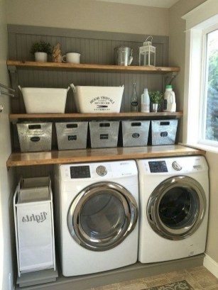 Fabulous Functional Laundry Room Decoration Ideas On A Budget 06