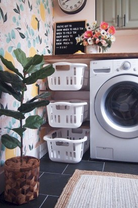 Fabulous Functional Laundry Room Decoration Ideas On A Budget 08