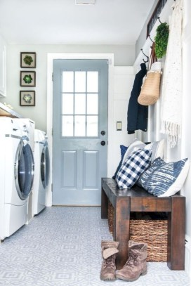 Fabulous Functional Laundry Room Decoration Ideas On A Budget 16