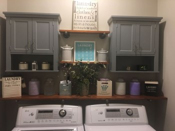 Fabulous Functional Laundry Room Decoration Ideas On A Budget 21