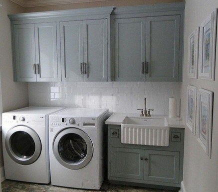 Fabulous Functional Laundry Room Decoration Ideas On A Budget 25