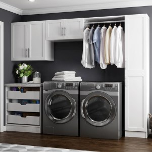 Fabulous Functional Laundry Room Decoration Ideas On A Budget 31