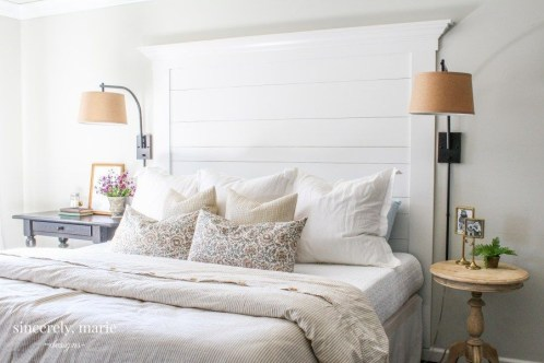 Fantastic Diy Bedroom Headboard Ideas To Make It More Comfortable 06