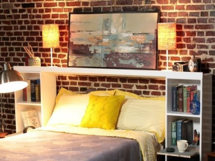 Fantastic Diy Bedroom Headboard Ideas To Make It More Comfortable 07