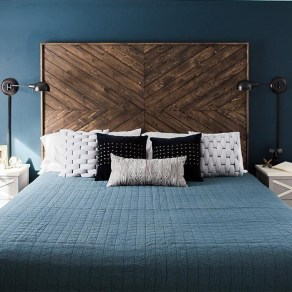 Fantastic Diy Bedroom Headboard Ideas To Make It More Comfortable 40