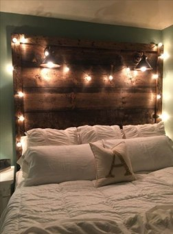 Fantastic Diy Bedroom Headboard Ideas To Make It More Comfortable 43
