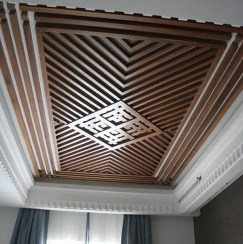 Gorgeous Ceiling Design Ideas For Living Room To Apply Asap 05