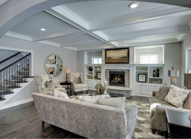 Gorgeous Ceiling Design Ideas For Living Room To Apply Asap 14