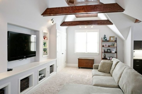Gorgeous Ceiling Design Ideas For Living Room To Apply Asap 34