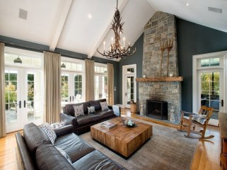 Gorgeous Ceiling Design Ideas For Living Room To Apply Asap 38