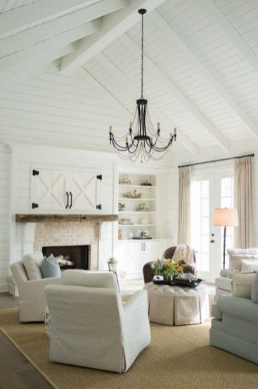 Gorgeous Ceiling Design Ideas For Living Room To Apply Asap 44