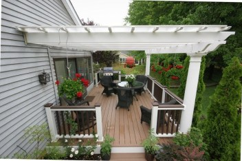 Latest Home Patio Design With Hanging Plants 13