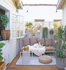 Latest Home Patio Design With Hanging Plants 14